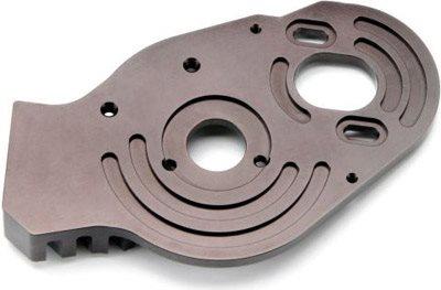 HPI BLITZ Aluminum Heat Sink Motor Plate Mount Silver BLITZ ESE E-Firestorm