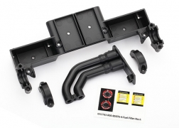 Traxxas Unlimited Desert Racer Chassis Tray, Driveshaft Clamps and Fuel  Filler (black)